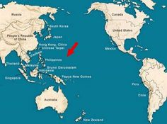 This is where Saipan is.