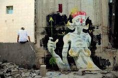 Street art in Israel by UNTAY | #urbanstreetartists #graffitiart #urbanart #art #streetart #urbanartist #graffiti
