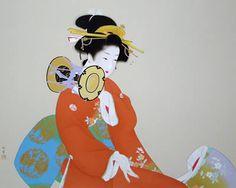 'Tympanitic Sound' silkscreen by Shoen UEMURA