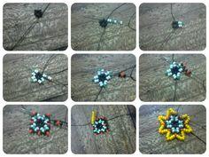 Seed Bead Jewelry, Seed Beads, Beaded Jewelry, Beaded Flowers Patterns, Beading Patterns, Beading Projects, Beading Tutorials, Handmade Beads, Handmade Jewelry