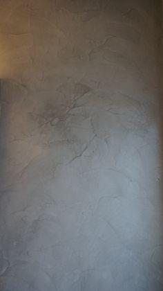 Betonlook op muur badkamer