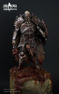 Hi all, this miniature is 75mm scale and it's part of my collection.  All comments are welcome.