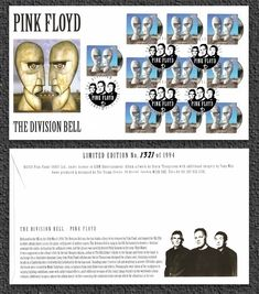 In 2010, their legacy was commemorated with a Royal Mail postage stamp series of classic album covers. | 15 Brain-Melting Pink Floyd Facts And Figures