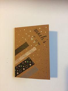 Für einen lieben Kollegen Office Supplies, Notebook, Diy, Love, Bricolage, Do It Yourself, The Notebook, Homemade, Diys