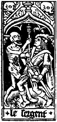 Detail of a page from Horae, published by Simon Vostre. Printed by Philippe Pigouchet, Paris, 1496-97