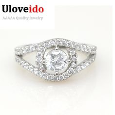 Find More Rings Information about 2014 New Sterling Silver Jewelry Vintage Rings for Women Crystal CZ Simulated Diamonds Fashion Acessories Engagement Ring Y009,High Quality ring magnets for sale,China ring fashion jewelry Suppliers, Cheap ring pan from ULOVE Fashion Jewelry on Aliexpress.com
