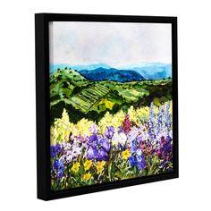 ArtWall Allan Friedlander 'Pollinator'S Ravine' Gallery-wrapped Floater-framed