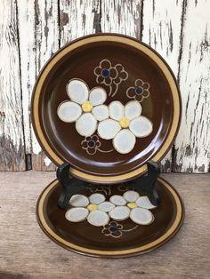 Pair Of Vintage Japan Stoneware Retro Side Plates Three Castles Flower | Pottery, Glass, Stoneware | eBay!