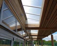 Our latest prefabricated strawbale ModCell school extension - the building adopts apassive approach to sustainability.  willewoodwork