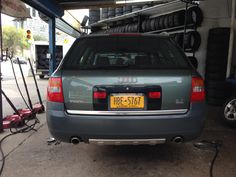 "Audi Allroad - 2002 - green - 17"" wheels - station wagon avant - A6 body style - twin turbo 2.7 liter v6"