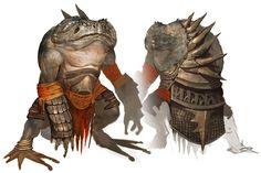 Heket Monster from Guild Wars Nightfall