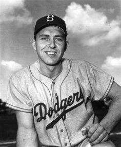 Gil Hodges, 1st baseman for the Dodgers, and later manager who brought the NY Mets their 1st World Championship in 1969.