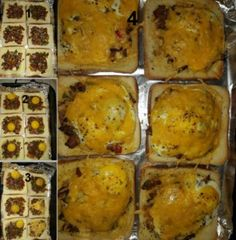 EIER IN DIE BROOD ONTBYT Breakfast Dishes, Recipies, Good Food, Vegetables, Om, African, Lovers, Traditional, Recipes