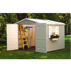 Garden Sheds Rona costco: lifetime® 8 ft. x 15 ft. storage shed | daycare playspaces