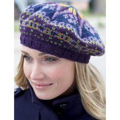 Free Intermediate Women's Hat Knit Pattern                                                                                                                                                                                 More