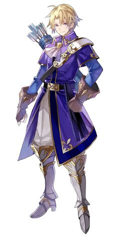 Klein (Fire Emblem Heroes) from Fire Emblem: The Binding Blade Game Character Design, Fantasy Character Design, Character Design Inspiration, Character Concept, Character Art, Fantasy Male, Fantasy Warrior, Anime Fantasy, Fantasy Adventurer