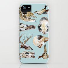 Skulls iPhone & iPod Case by Katelyn Patton - $35.00