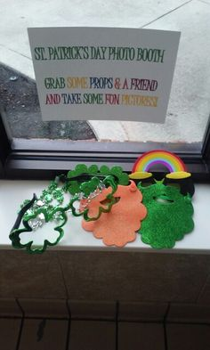 St.Patrick's Day Photo Booth