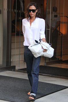 Fashion Week   So lässig sah man Victoria Beckham noch nie  - STYLEBOOK.de