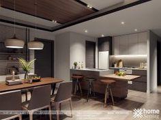 Thiết kế nội thất Yên Hòa Condominium căn hộ CH2