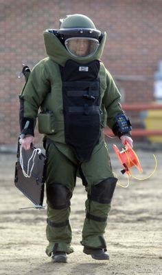 bomb squad suit - Google Search