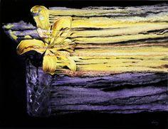 Oilpainting by Lévay Máté #oil #painting #oilpainting #flower