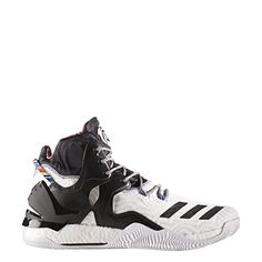 separation shoes a5e3a d1764 Adidas D Rose 7 Shoes (Running White Ftw   Black   Metallic Gold)