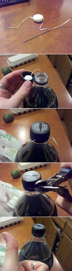Prank someone with this mentos and diet coke hack