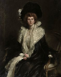 Portrait of a Lady, 1904 by Hugh de Twenbrokes Glazebrook