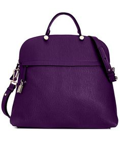 Furla Handbag, Piper Bugatti Medium Satchel - Handbags & Accessories - Macy's- love the color- $548.00