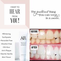 AP 24 Anti-Plaque Fluoride Toothpaste uses a safe, gentle form of fluoride to remove plaque and protect against tooth decay. Ap 24 Whitening Toothpaste, Whitening Fluoride Toothpaste, Beauty Care, Beauty Skin, Health And Beauty, Nu Skin, Stained Teeth, Baby Lotion, Alcohol Free