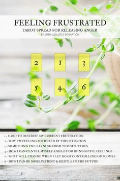 I created this tarot spread to help reset your emotions and find your center once again so that you can sensibly deal with the situation at hand. For more free spreads visit: www.emeraldlotus.ca #tarotcards&inspiration