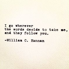 http://instagram.com/williamc.hannan https://www.facebook.com/WilliamC.HannanWriting