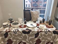 Make your Thanksgiving dinner special this year! Drape your table with Marimekko Green Green fabric and decorate it with Iittala glassware, Marimekko dinnerware, and Aveva spice grinder. http://ss1.us/a/c9pjsIv2 #kiitoslife #kiitoslifenyc #marimekko #marimekkofabric #iittala #glassware #dinnerware #aveva #spicegrinder #home #thanksgiving #homedecor