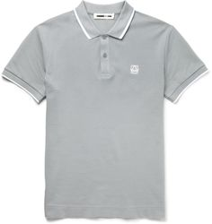 585b15c9494b McQ Alexander McQueen Slim-Fit Cotton-Piqué Polo Shirt Μπλουζάκια Polo, Polo  Ralph