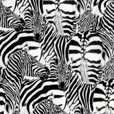 Stripey Zebra Safari Zoo Wild Animal 100% Patchwork Cotton Fabric (Nutex). 100% Cotton Fabric. to represent colour to 100% accuracy. You can choose from 3 lengths. | eBay!
