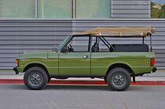 '95 Land Rover Range Rover Custom. Very cool.