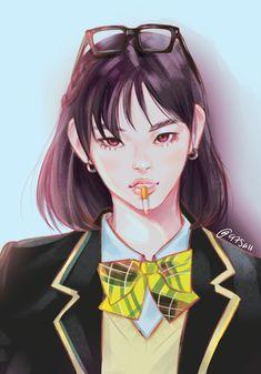 -- Min YoonJi (민윤지) una chica que se aprovecha de su belleza para usa… # Fanfic # amreading # books # wattpad K Pop, Bts Anime, Fanart Bts, Min Yoonji, Bts Girl, Kawaii, Bts Drawings, Amazing Drawings, Bts Fans