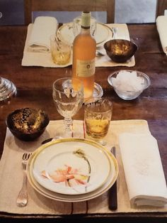 By Light of the Sea Jean-Loup Daraux Love this table setting!! Beautiful!