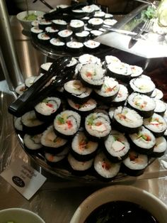 Hand rolled by our own staff, you'll love the California sushi. Hand Roll, Great Recipes, Sushi, Rolls, California, Cooking, Desserts, Food, Meal