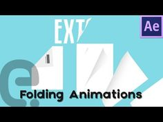 Folding Animation Techniques (Text & Paper) | Motion Graphics After Effects Tutorial - YouTube