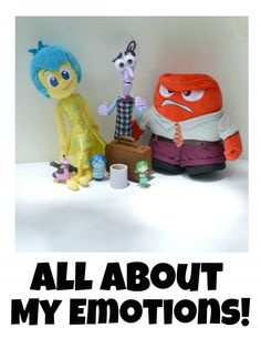 All About My Emotions printable booklet inspired by Inside Out #PlayNGrow #CollectiveBias [ad]