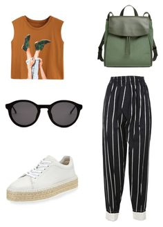 """""""Untitled #2"""" by oblomova1 on Polyvore featuring CÉLINE, rag & bone, Skagen and Thierry Lasry"""