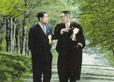 Mentor and Disciple | Daisaku Ikeda (l) and Josei Toda.