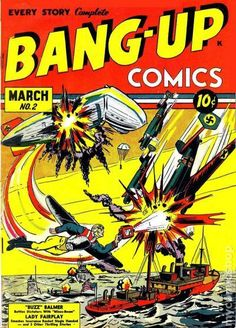 BANG-UP COMICS 2, GOLDEN AGE COMIC