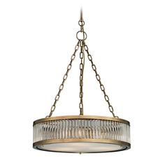 Elk Lighting Pendant Light in Aged Brass Finish | 46125/3 | Destination Lighting