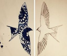 Still looking for just the right inspiration for my tattoo of a bird that I want to get...