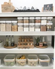 s promised, here is a full length shot of our pantry 😊 this was taken just before we moved house last week so I'll be doing an updated