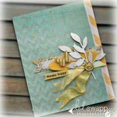 Heidi Swapp Card Inspiration - easily done with SU products!