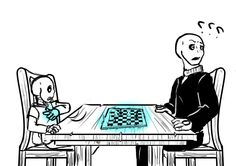 Day 2- Games : Fine, you get this one wise guyThis is my contribution for the cheer up the skeleton week! I took a break from No Funny Bone to at least have one strip in this week!Gaster always win no matter what so Sans used his wise guy attitude to win this one. Gaster had no choice but to give him this win for his smart move.